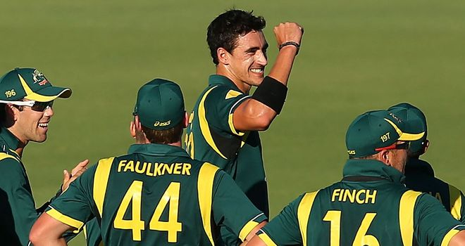 Mitchell Starc: second five-wicket haul in three days