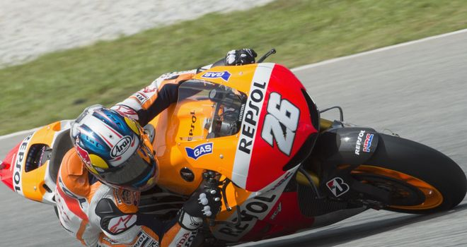 Dani Pedrosa: Showing early form