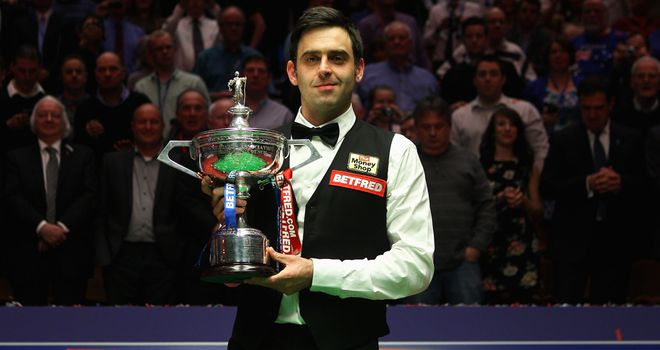 Ronnie O'Sullivan: Cut short break from snooker to defend title
