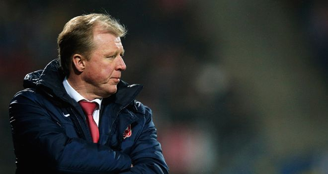 Steve McClaren: Could a role at St George&#39;s Park provide redemption?