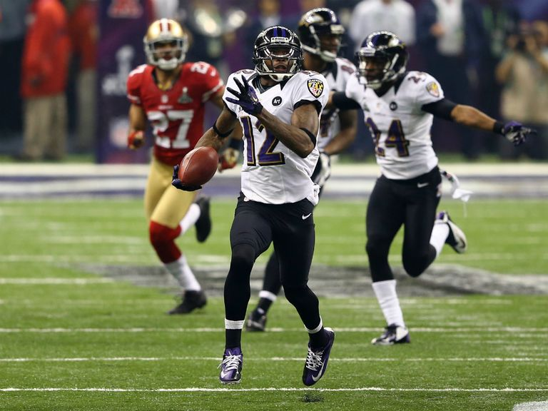 Jacoby Jones: Two touchdowns, including a 108-yard kick-off return