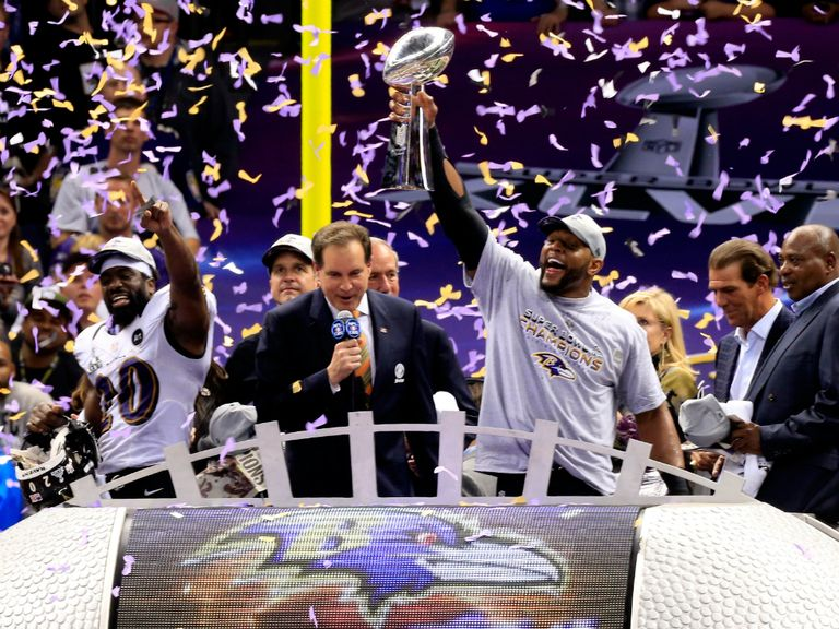 Baltimore Ravens won Super Bowl XLVII in February