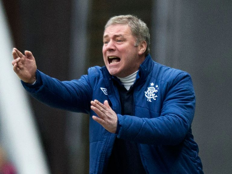 Ally McCoist: Ties down Gallacher to a new deal