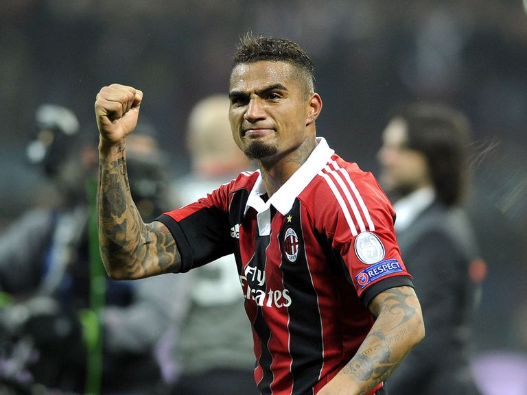 Kevin-Prince Boateng: Four-year deal with Schalke