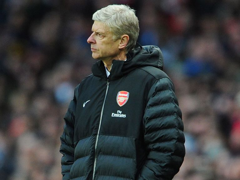 Wenger: Saw his side crash out of the FA Cup