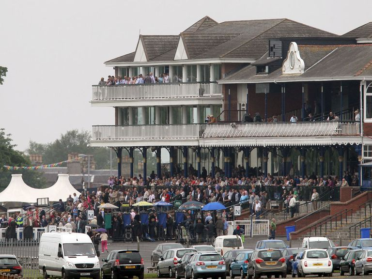 Ayr racecourse: Hosts sole National Hunt meeting today