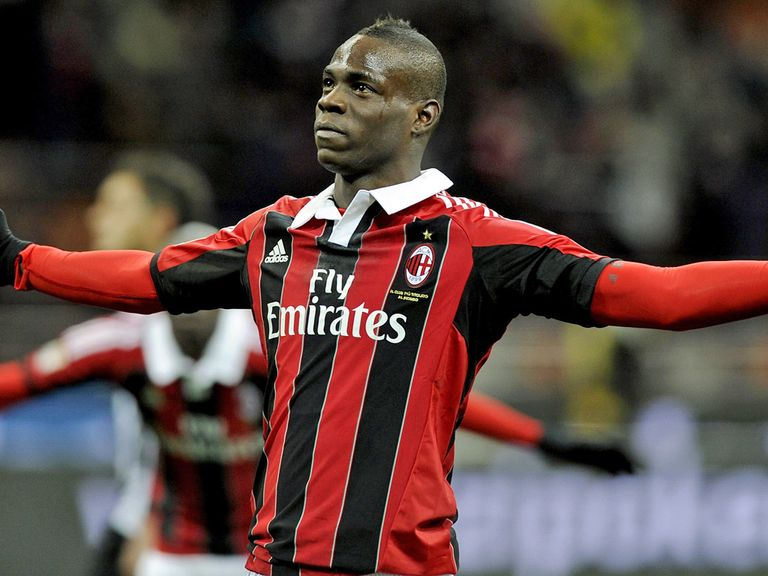 Balotelli: Just signed for AC Milan
