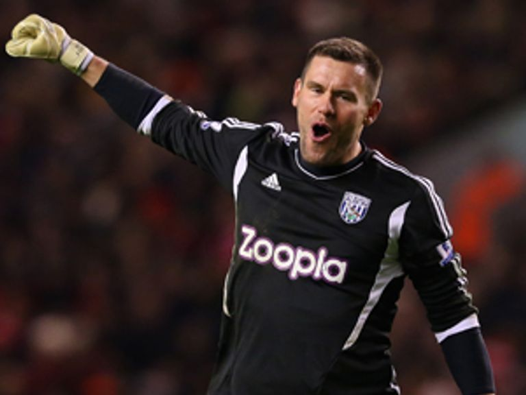 Foster is thrilled with his clean sheet at Anfield on Monday night