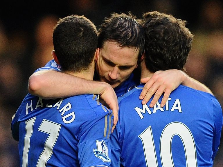Frank Lampard: Linked with a move from Chelsea