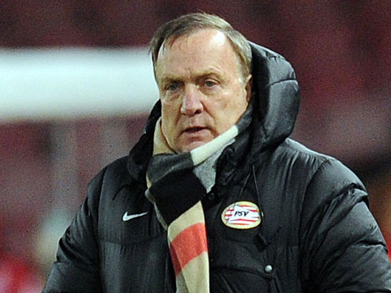 Dick Advocaat: Refusing to panic