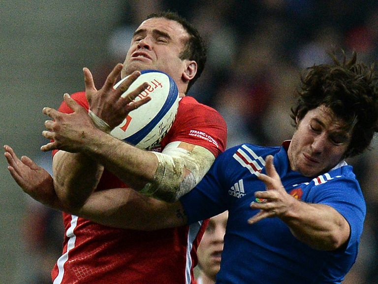 Jamie Roberts: Welsh scrum was outstanding