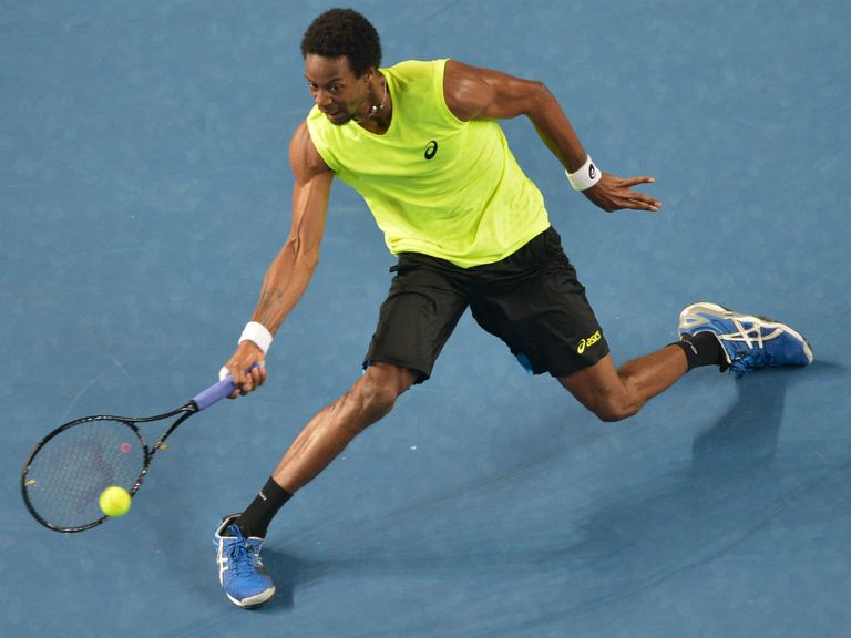 Gael Monfils: Defeated James Blake