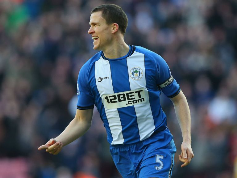 Gary Caldwell: Return to Wigan team is 'vital', says Martinez