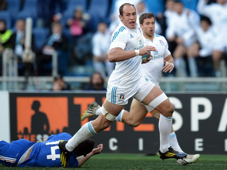 Sergio Parisse: Hit with a 40-day ban