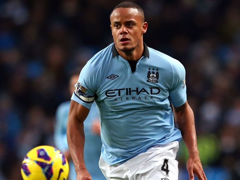Kompany: Back in training
