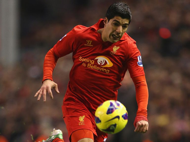 Rodgers has praised Suarez (pictured)