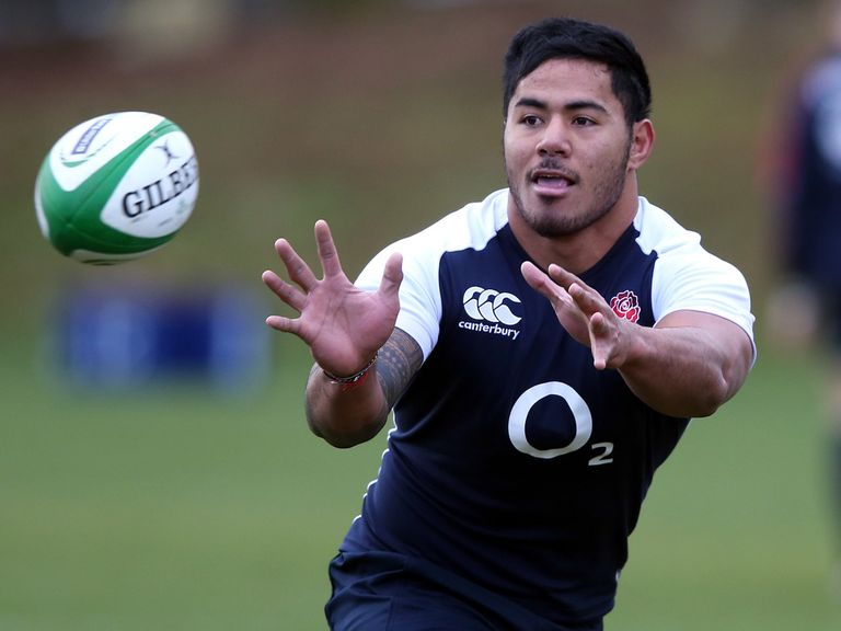 Manu Tuilagi: Not guaranteed an England starting place