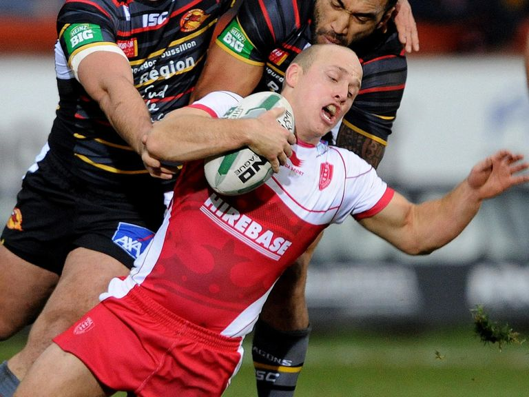 Michael Dobson: Key man for Hull KR
