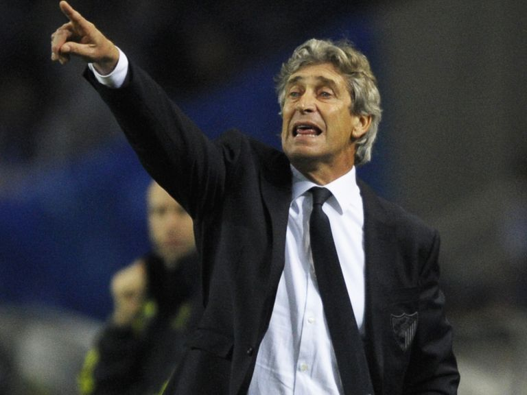 Pellegrini: Heavily backed for Manchester City job