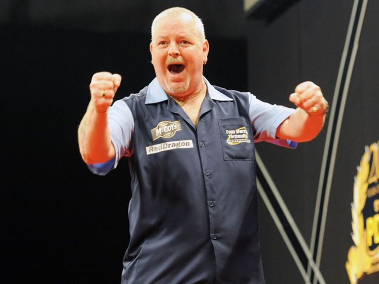 Robert Thornton: Opened the night with a win