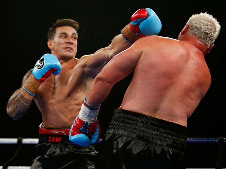 Sonny Bill Williams: Captured the WBA International heavyweight title