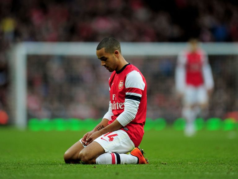 Walcott has urged his team mates to bounce back