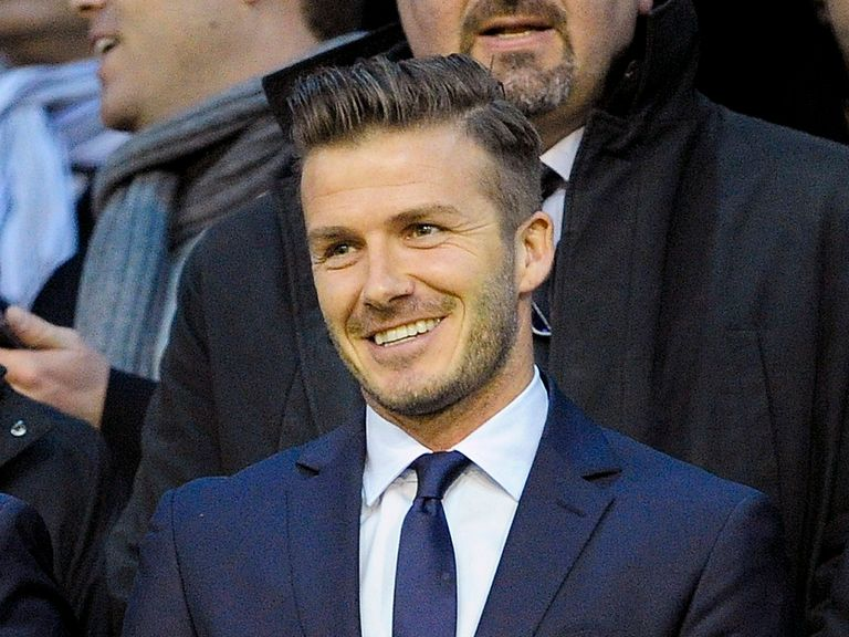 Beckham trained with PSG on Wednesday