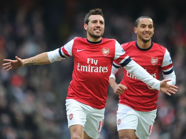 Santi Cazorla: Loving his time in England