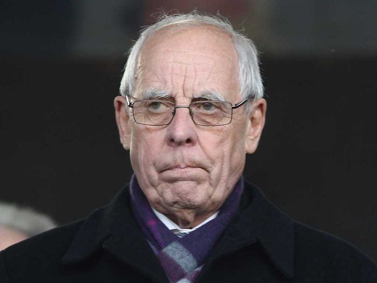 Stoke chairman Peter Coates
