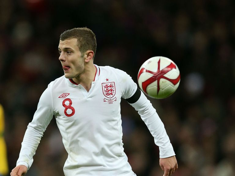 Jack Wilshere: Will not face Brazil or the Republic of Ireland