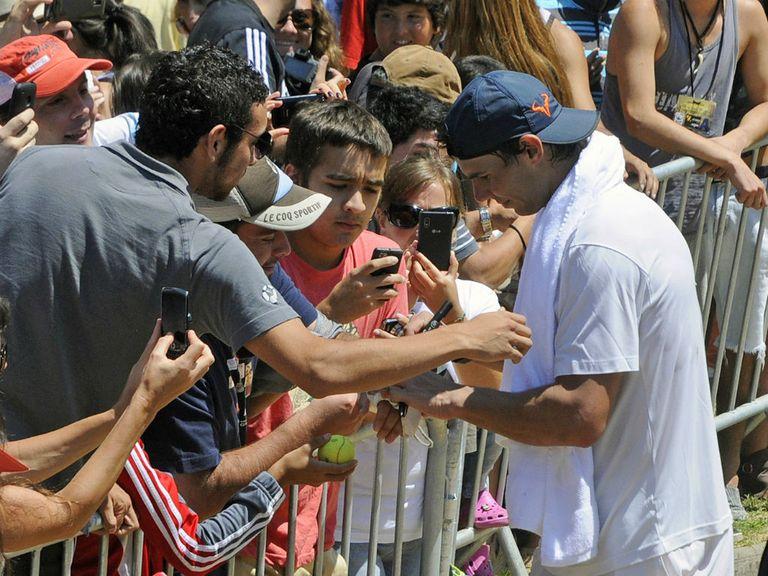 Nadal: He's back