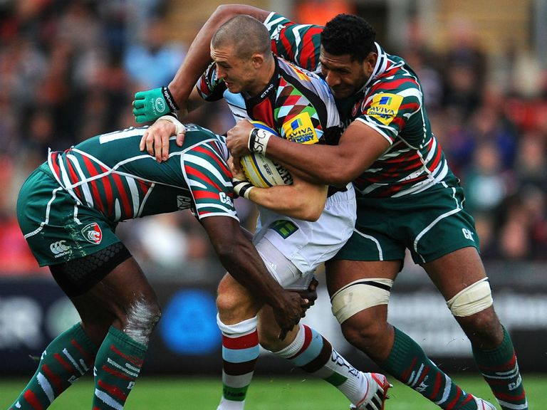 Leicester can get the better of Harlequins this weekend.