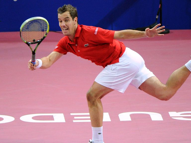 Richard Gasquet: Taken to three sets