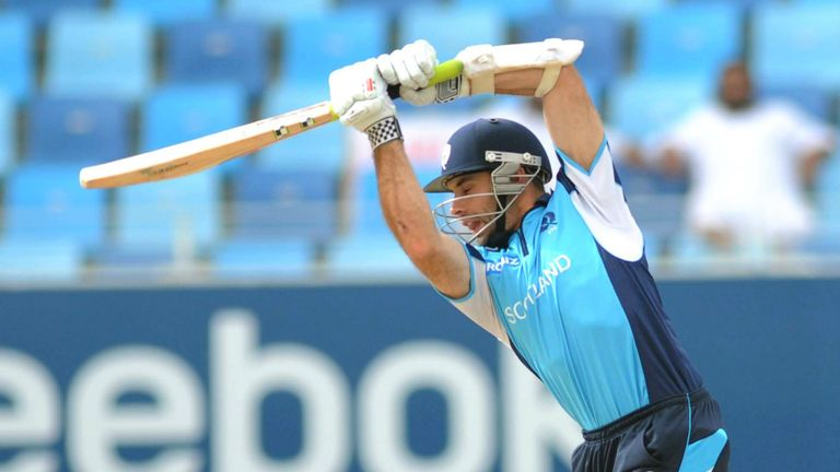 Kyle Coetzer: Will lead out Scotland against Pakistan on Friday