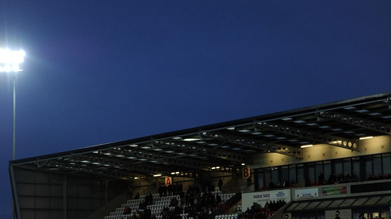 The Globe Arena: The home of Morecambe