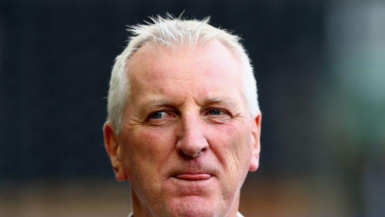 Ronnie Moore: Aiming to sign a striker in the summer