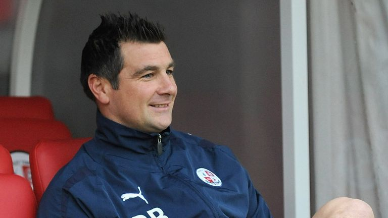 Richie Barker: Looking to build on debut season in League One