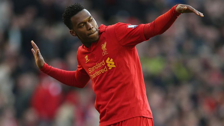 Daniel Sturridge: Scored for Liverpool against his former club on Sunday