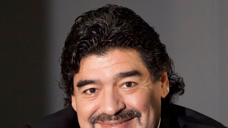 Diego Maradona: Still a revered figure in Napoli after spending his peak years at the club