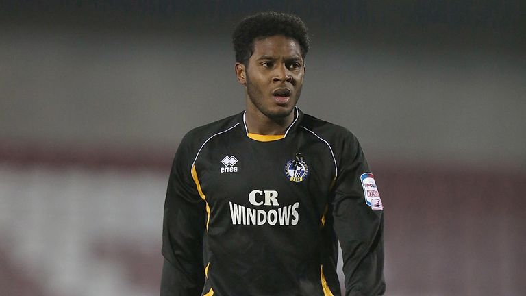 Ellis Harrison: On target in Wales U21s' victory over San Marino