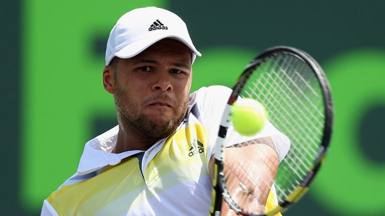 Jo-Wilfried Tsonga: The Frenchman will take on Tobias Kamke next