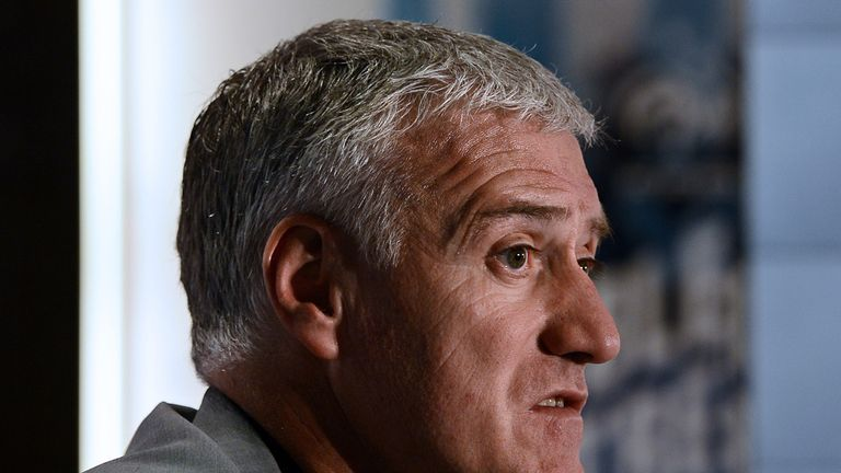 Didier deschamps France side fail to score for fifth game