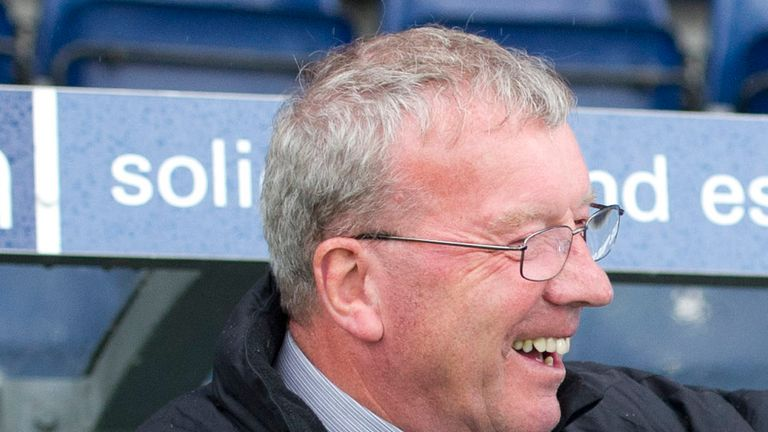 Alex Smith: Interim manager at Falkirk following Steven Pressley's exit