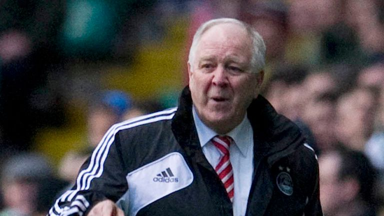 Craig Brown: Signed off at Pittodrie with victory
