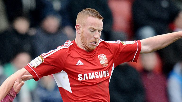 Adam Rooney: Got double figures for Robins last season