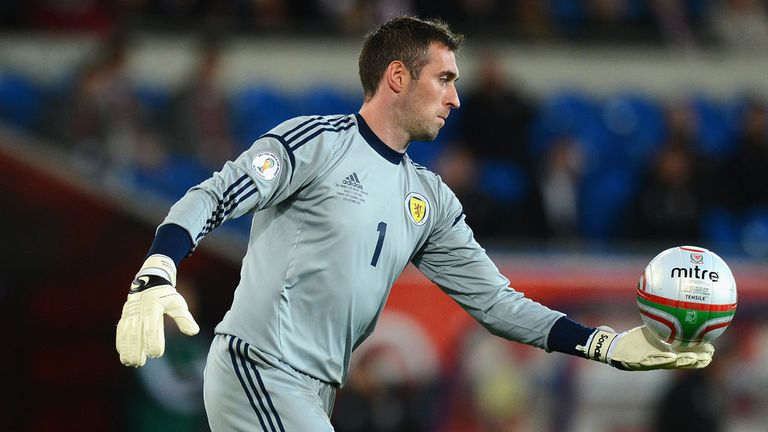 Allan McGregor: Looking for first competitive win for Gordon Strachan