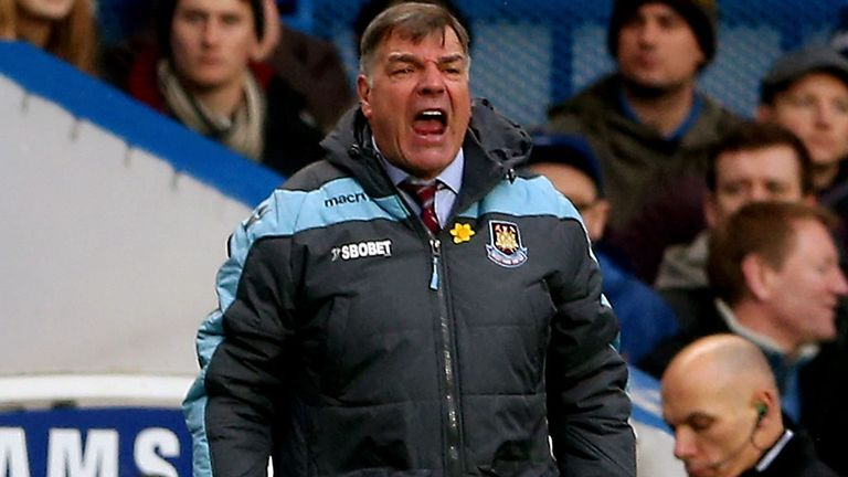 Sam Allardyce: Targeting surprise result at St Mary's