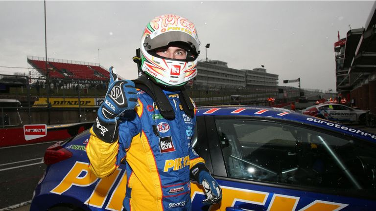 Andrew Jordan: At the top of the BTCC standings with two rounds left