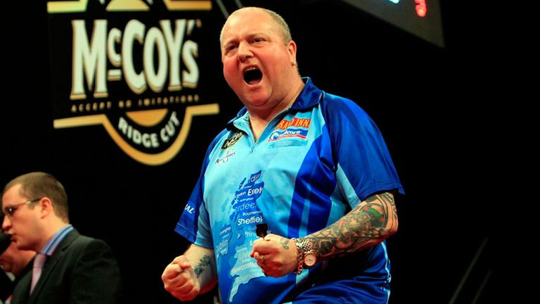 Andy Hamilton: Was a comfortable winner against a lacklustre Phil Taylor