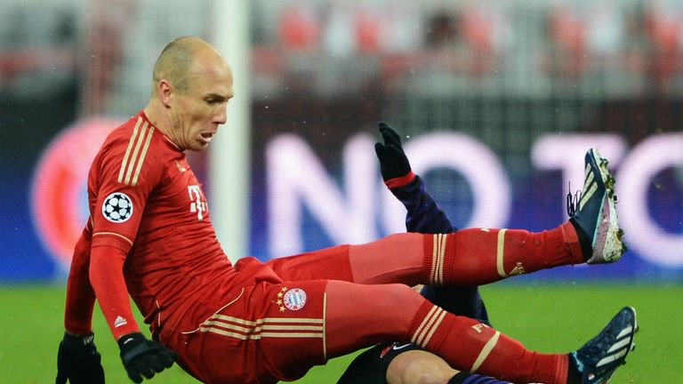 Arjen Robben: Saw Bayern Munich stumble in the quarter-finals of the Champions League